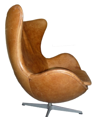 fauteuil egg de jacobsen circa 1970 l 39 atelier 50. Black Bedroom Furniture Sets. Home Design Ideas