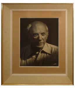 Photo Pablo Picasso dédicacée