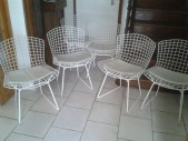 4 chaises Harry Bertoia