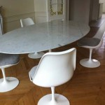 Table tulip ovale Eero Saarinen