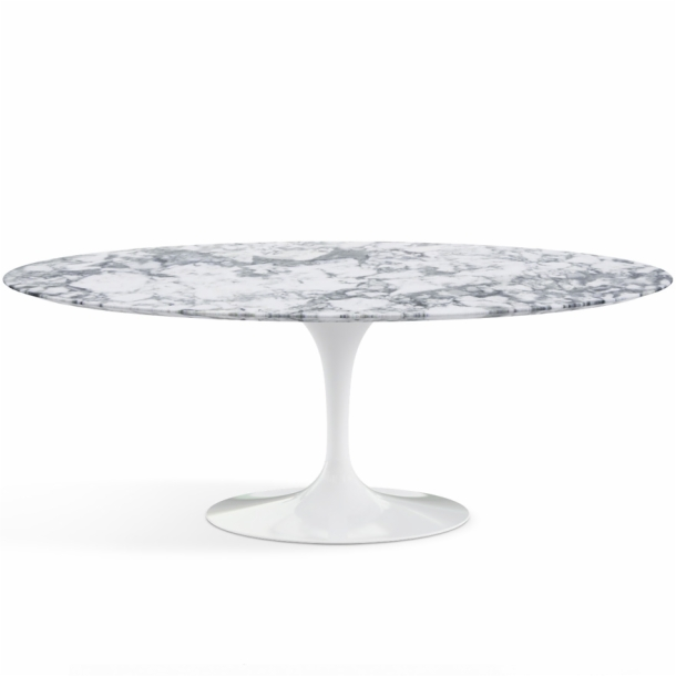 Table ovale Saarinen édition Knoll