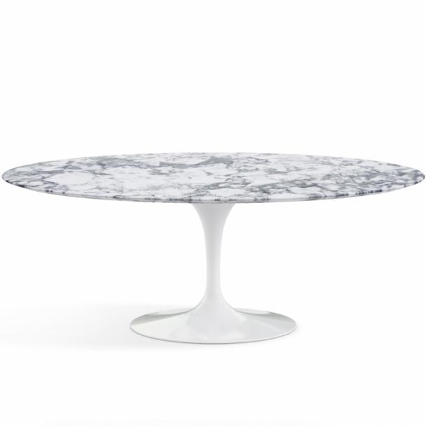 Table ovale Saarinen édition Knoll