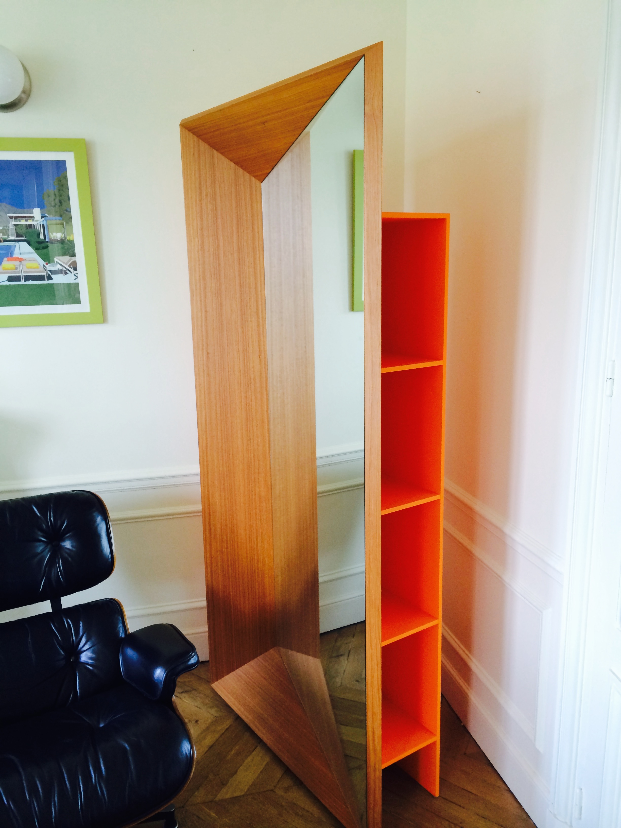 trompe oeil bibliotheque. Black Bedroom Furniture Sets. Home Design Ideas