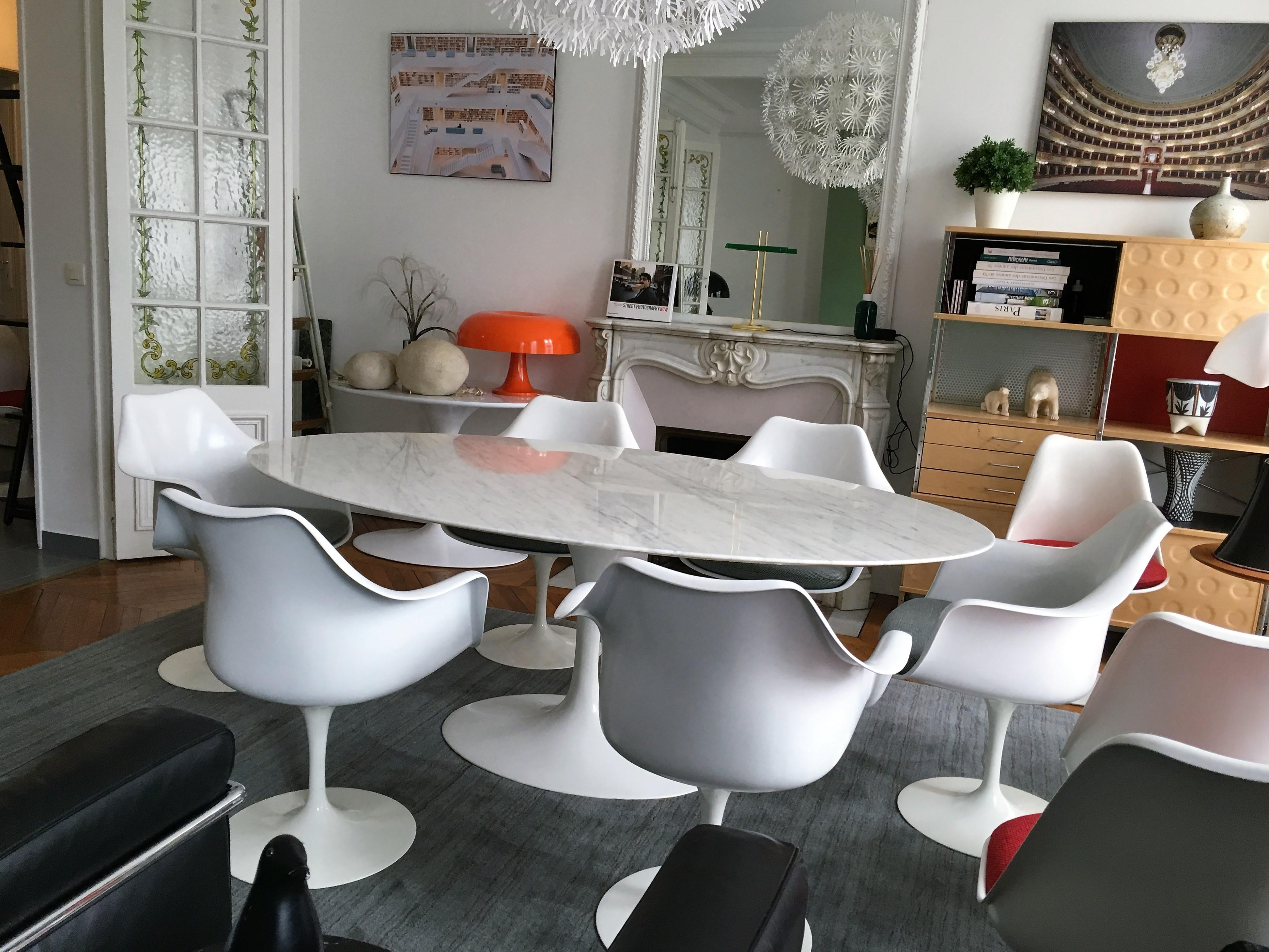 fauteuils saarinen dition knoll l 39 atelier 50 boutique vintage achat et vente mobilier. Black Bedroom Furniture Sets. Home Design Ideas