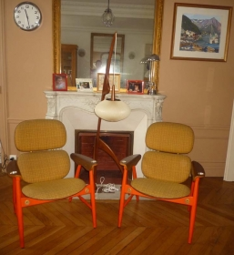 Table De Salon Guillerme Et Chambron 1950 L Atelier 50