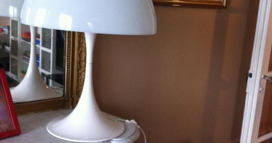 Lampe Panthella de Panton 1970