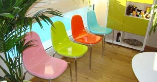 4 Chaises design Karim Rashid