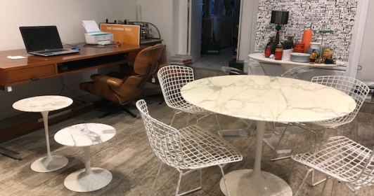 Chaises Harry Bertoia édition Knoll