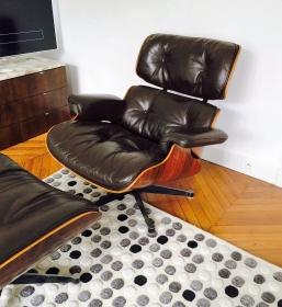 Fauteuil lounge chair édition Herman Miller