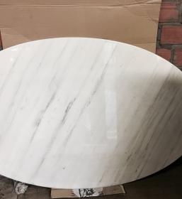 Grande table ovale tulipe Saarinen édition Knoll International