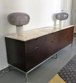Sideboard enfilade design Florence Knoll circa 1970