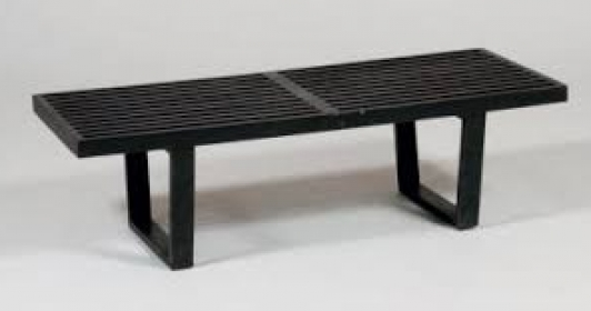 Banc bench Georges Nelson édition Herman Miller