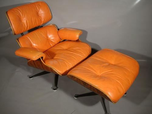Fauteuil lounge chair eames l 39 atelier 50 boutique vintage achat et - Fauteuil lounge eames occasion ...