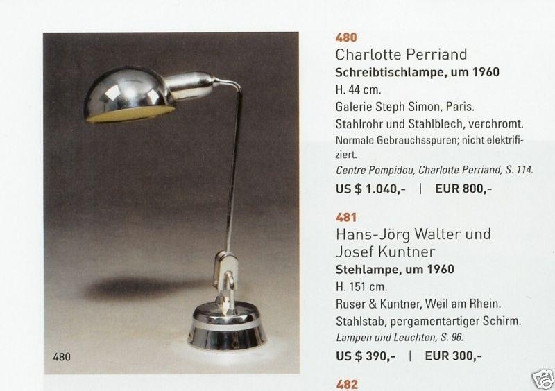 Lampe Jumo design Charlotte Perriand