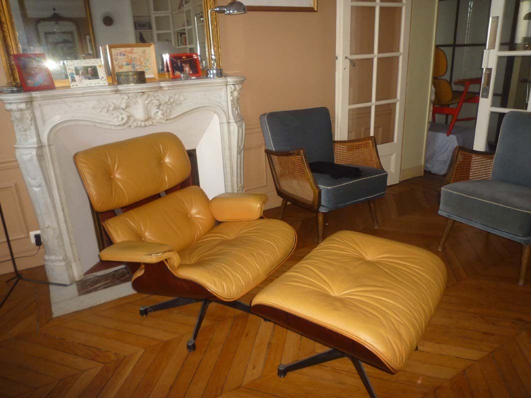 fauteuil lounge chair charles eames l 39 atelier 50 boutique vintage achat et vente mobilier. Black Bedroom Furniture Sets. Home Design Ideas