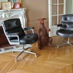 Fauteuils Eames Lobby Chair Herman Miller