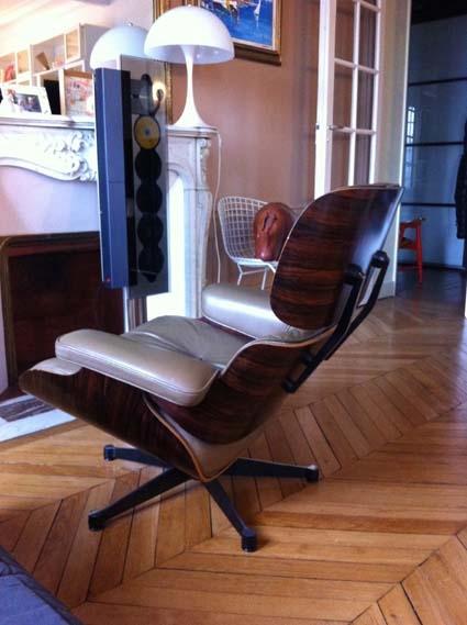 fauteuil lounge chair charles eames l 39 atelier 50 boutique vintage achat et vente mobilier. Black Bedroom Furniture Sets. Home Design Ideas
