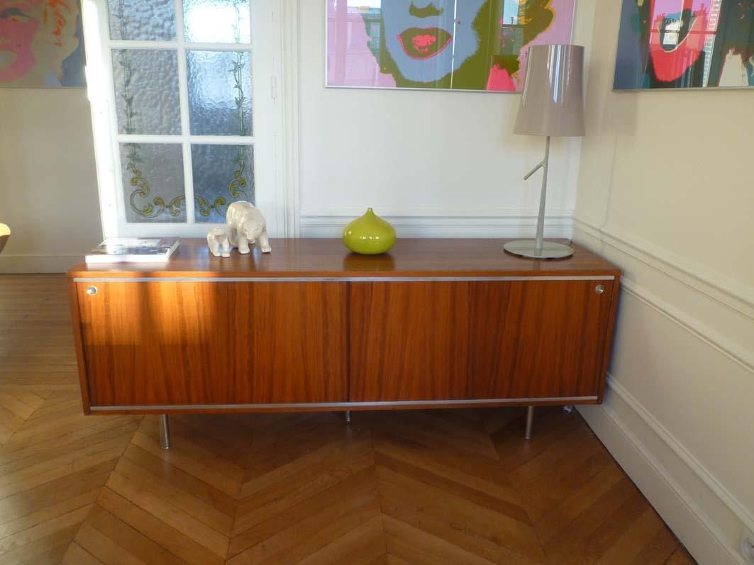 enfilade palissandre de georges nelson l 39 atelier 50 boutique vintage achat et vente. Black Bedroom Furniture Sets. Home Design Ideas