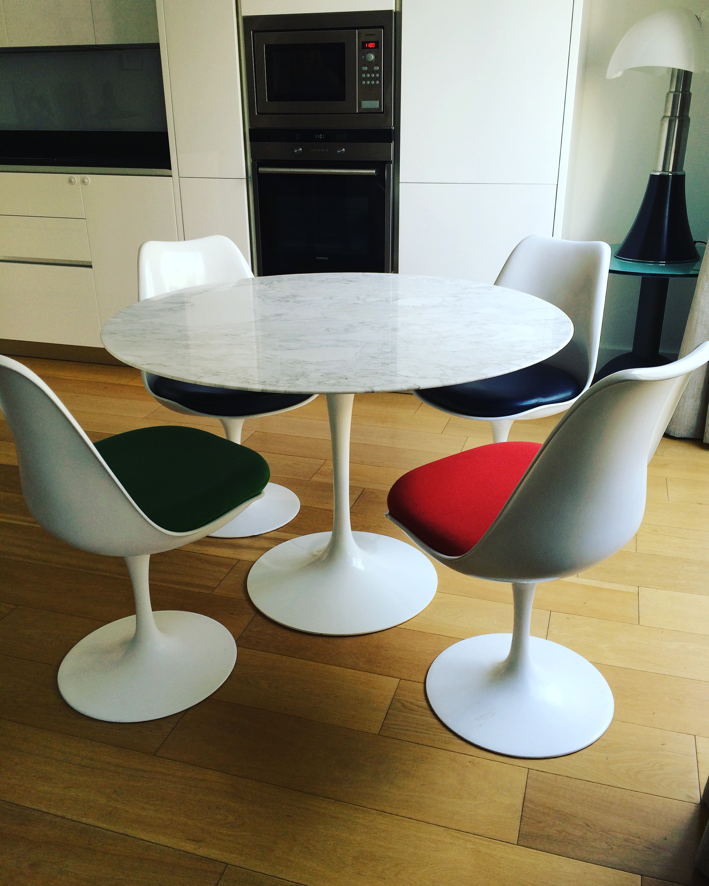 Table Tulipe En Marbre Saarinen Dition Knoll L 39 Atelier
